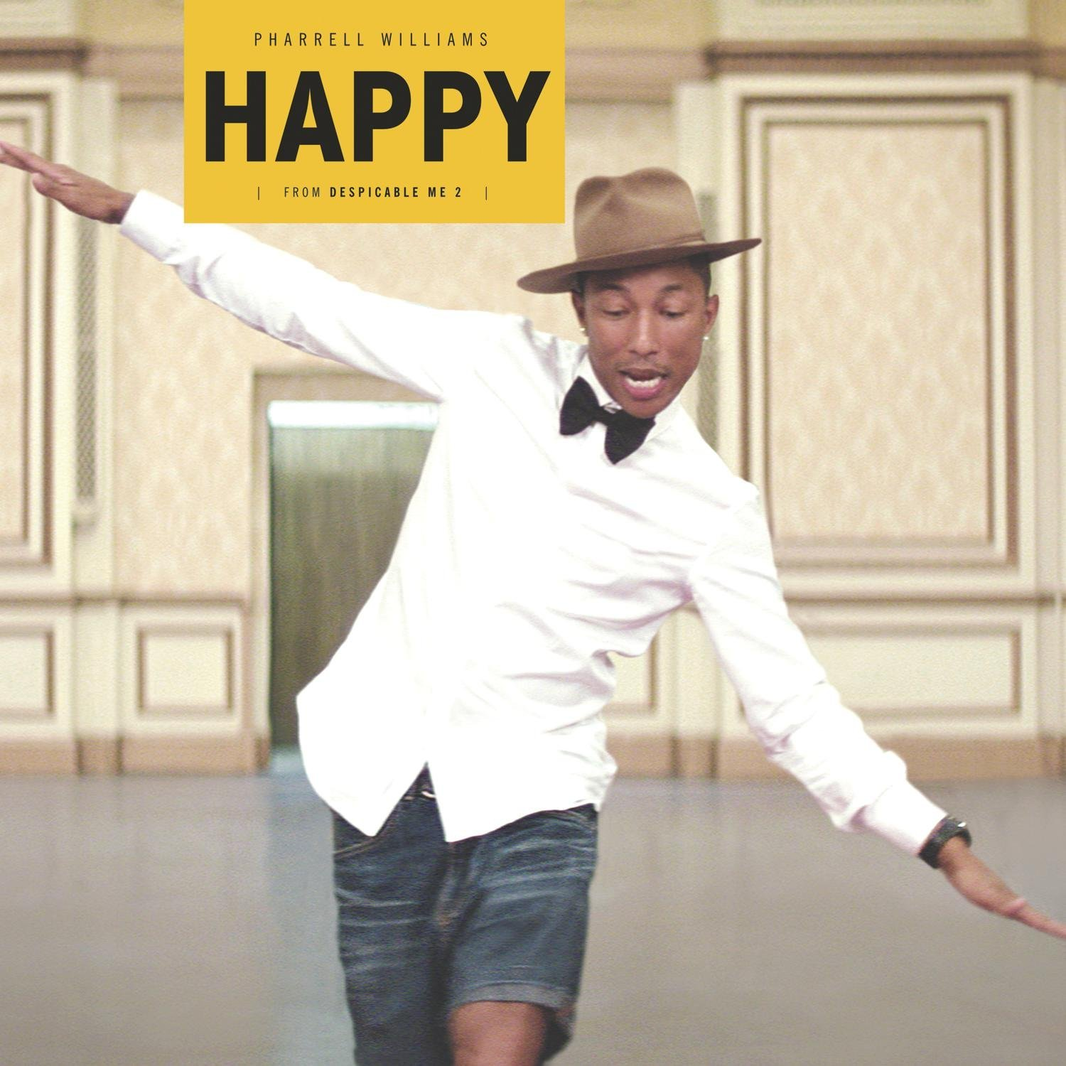 Pharrell-Williams-Happy-Despicable-Me-2-12-Vinyl-Single-UK-Pop-2014-New